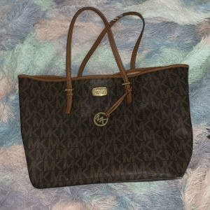Michael Kors logo bag large